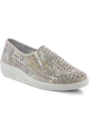 Spring Step Women's Twila Perforated Leather Loafer