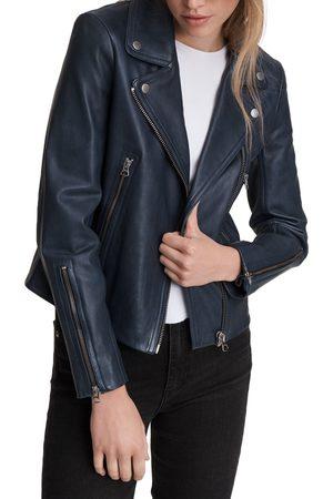 RAG&BONE Women's Mack Leather Moto Jacket