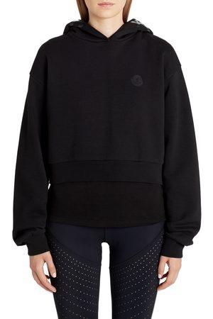 Moncler Women's Logo Hooded Sweatshirt