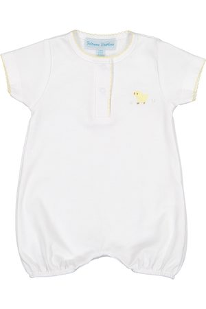 Feltman Brothers Infant Girl's Chick Embroidered Romper