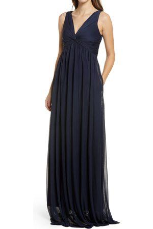BIRDY GREY Women's Lianna Empire Waist Sleeveless Gown
