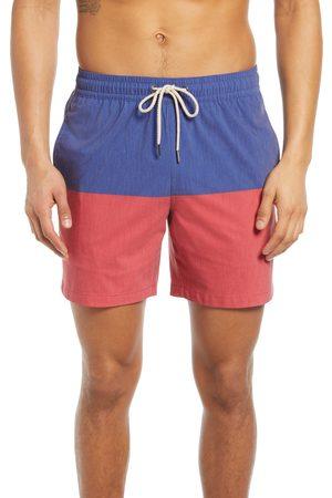 Fair Harbor Men's The Bayberry Colorblock Swim Trunks