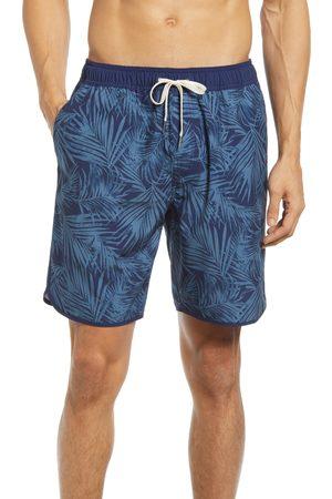 Fair Harbor Men's The Anchor Palm Leaf Swim Trunks
