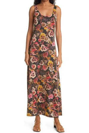 FUZZI Women's Floral Print Tank Dress