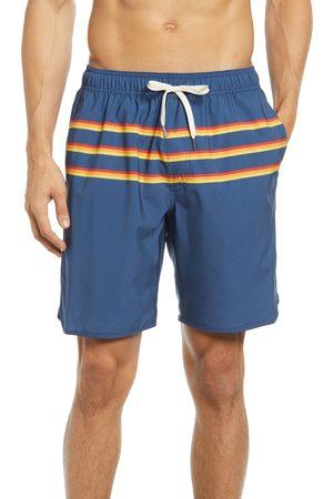 Fair Harbor Men's The Anchor Stripe Swim Trunks