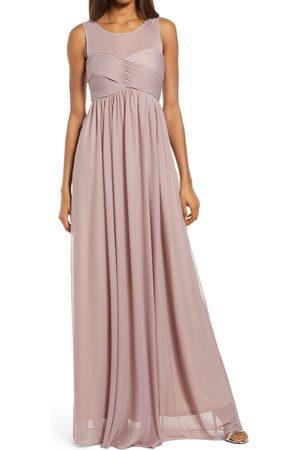 BIRDY GREY Women's Ryan Sleeveless Empire Waist Gown