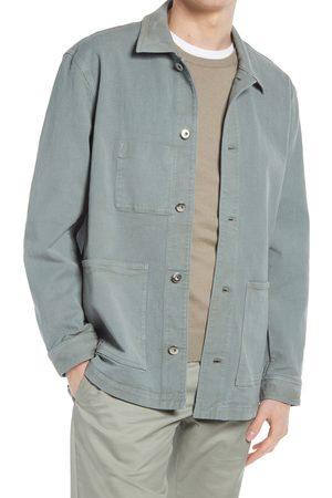 CLUB MONACO Men's Twill Chore Jacket