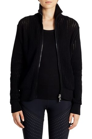 Moncler Women's Zip Turtleneck Cotton Cardigan