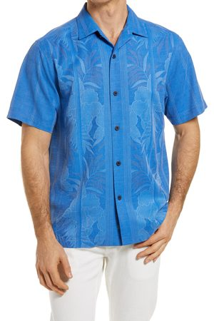 Tommy Bahama Men's Tahitian Border Classic Fit Silk Shirt