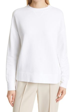 Vince Women's Essential Relaxed Cotton Sweatshirt