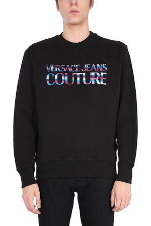 Versace Jeans Couture VERSACE JEANS MEN'S B7GWA7GE30438899 OTHER MATERIALS SWEATSHIRT