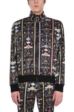 Versace Jeans Couture VERSACE JEANS MEN'S B7GWA723S0989899 OTHER MATERIALS SWEATSHIRT