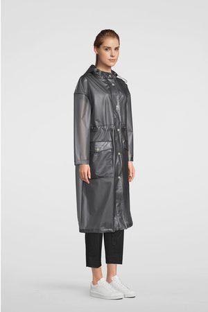 Stutterheim Ranarp Semi-Transparent Raincoat - Smoke