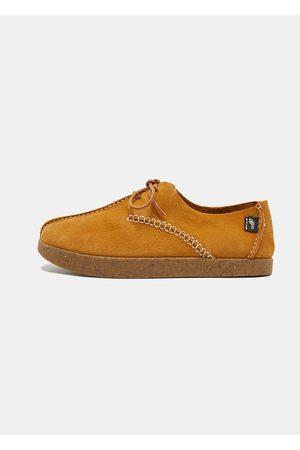 Yogi Footwear Men Shoes - Yogi Lennon Embossed Nubuck Shoes - Wheat
