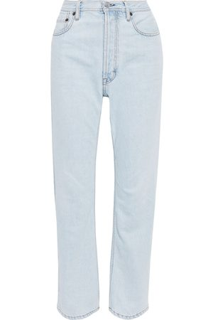 ACNE STUDIOS Women High Waisted - Woman Log High-rise Straight-leg Jeans Size 31W-34L