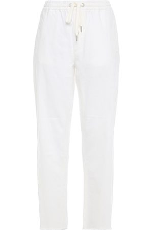 RAG & BONE Women High Waisted - Woman Frayed High-rise Straight-leg Jeans Off- Size L