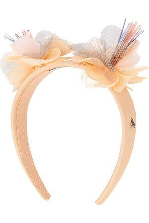 Maison Michel Big Yosh flower-appliqué headband