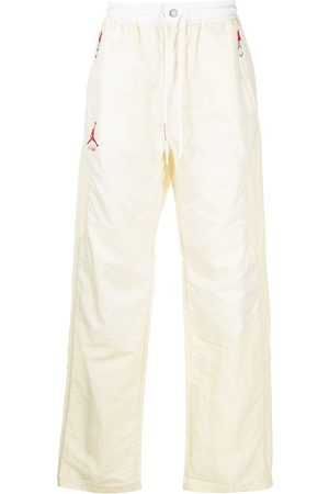 Nike X Off-White Logo-print track pants - Neutrals