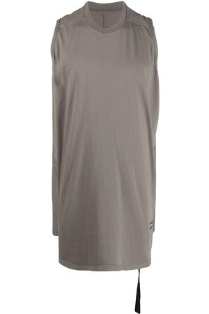 Rick Owens DRKSHDW Long sleeveless top - Grey
