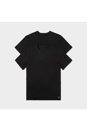 Nike Men T-shirts - Men's Everyday Crewneck T-Shirts (2-Pack) in / Size Small 100% Cotton/Knit