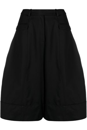 Simone Rocha Wide leg cropped trousers