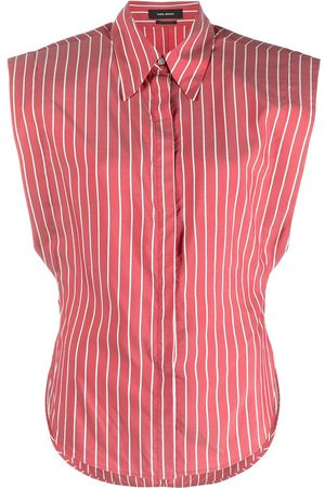 Isabel Marant Striped sleeveless shirt