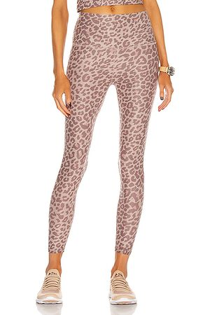 Beyond Yoga Spacedye Printed Caught In The Midi High Waisted Legging in Blush