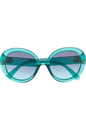 Gucci Eyewear GG round-frame sunglasses