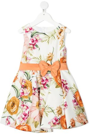 Colorichiari Floral print flared dress