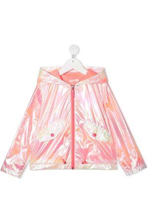 Billieblush Iridescent rain jacket