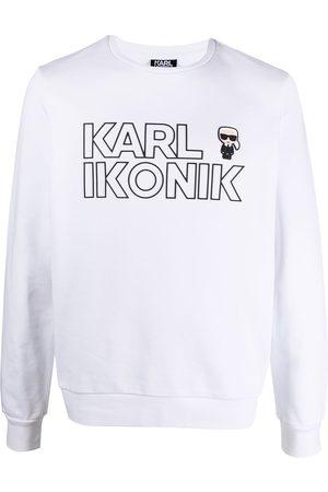 Karl Lagerfeld Ikonik logo print sweatshirt