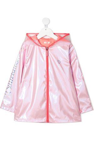 Billieblush Iridescent rain coat