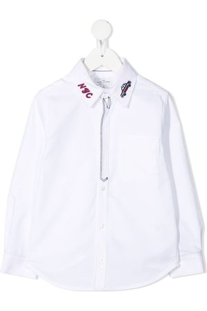 The Marc Jacobs Kids Embroidered cotton shirt