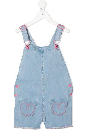 Billieblush Pink detailing denim overalls