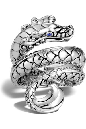 John Hardy Legends Naga sapphire ring