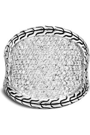 John Hardy Saddle diamond ring