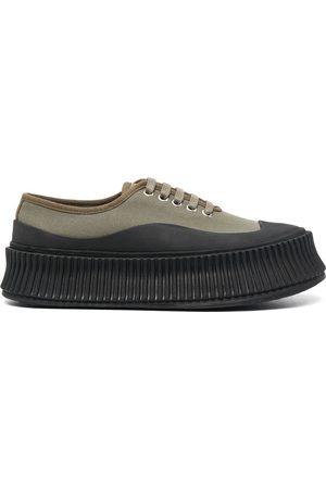 Jil Sander Two-tone low-top sneakers