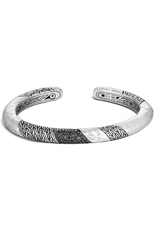 John Hardy Silver Classic Chain hammered 6.5mm slim kick cuff