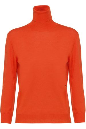 Prada Three-quarter sleeves logo jumper