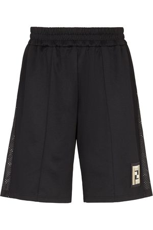 Fendi FF-logo patch Bermuda shorts