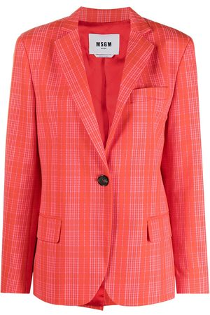 MSGM Notched-lapel single-breasted blazer