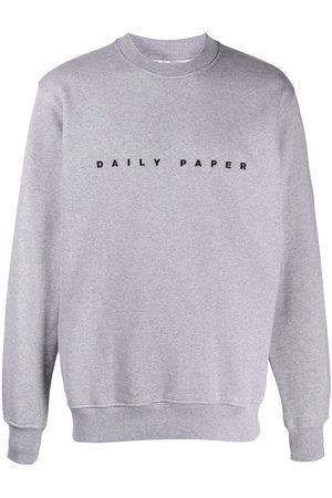 Daily paper Sweatshirts - Logo-embroidered sweatshirt - Grey