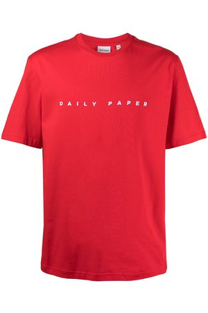 Daily Paper Logo-embroidered T-shirt