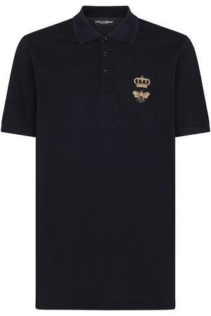 Dolce & Gabbana Embroidered polo shirt