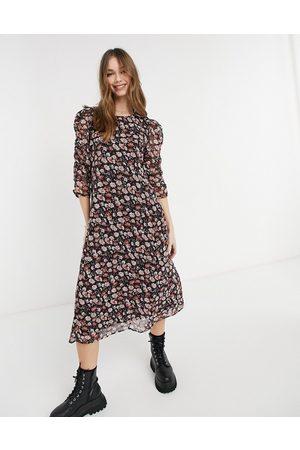 JDY Midi dress in floral print