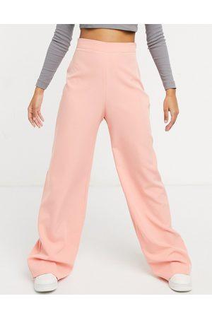 Vesper High waist balloon leg pants in coral