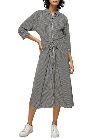 Whistles Stripe Selma Tie Dress