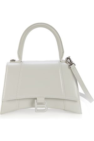 Balenciaga Hourglass Small Top Leather Handle Bag