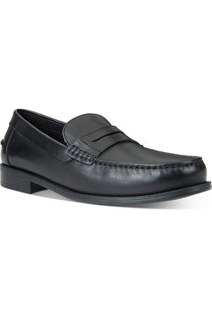 Geox Men's Damon Leather Penny Loafers