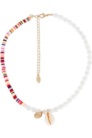8 Other Reasons Poi Lariat Necklace in Metallic .